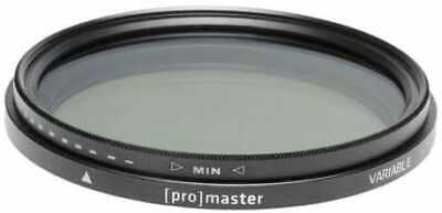 AU119.95 • Buy ProMaster Variable ND Standard 67mm Filter