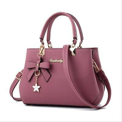 $ CDN24.51 • Buy Bags Leather Handbags Women Bags Handbag Satchel Waterproof Shoulder Bowknot LL