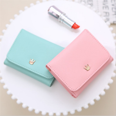 $ CDN7.32 • Buy Storage Bag Women Wallet Purse For Girls New Organizer Bags Crown Decorated AA
