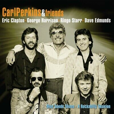 Carl Perkins & Friends - Blue Suede Shoes CD & DVD New 2020 • 10.99£