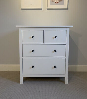IKEA Hemnes Chest 4 Drawers 2 Over 2 Perfect Condition RRP £150 • 100£