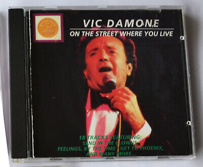 £3.49 • Buy Vic Damone - On The Street Where You Live (1994) 18-track CD
