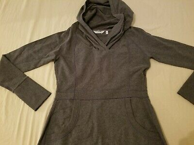 $ CDN31.67 • Buy Womens Athleta Hoodie Dress M Medium Gray Athletic