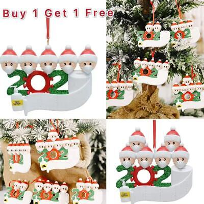 Xmas Christmas Tree Hanging Ornament Ornaments Family Personalised Bauble Decor • 3.39£