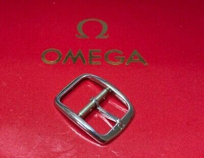 Vintage Genuine Omega Stainless Buckle 14mm To Suit 14/16mm Or 18mm Watch Strap • 27.99£