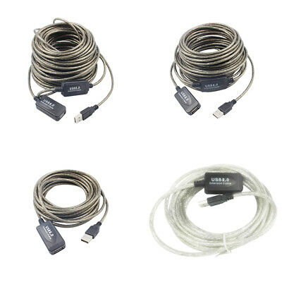 AU13.74 • Buy 5M 10M 15M 20M High Speed USB2.0 Male To Female Extension Cable Cord Extender LD