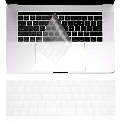 $16 • Buy TERSELY Silicone Keyboard Cover Case Skin Protector For MacBook Pro With Touch B