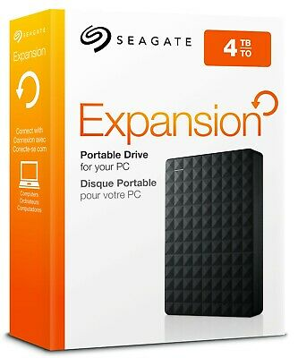 AU128.66 • Buy Seagate - Expansion 4TB External USB 3.0 Portable Hard Drive XBOX PS5 PC HDD 4TB
