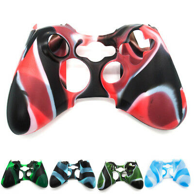 £2.90 • Buy Wireless Controller For XBOX 360 Silicone Rubber Protective Skin Shell Case DOPT