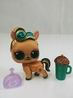 $ CDN14.99 • Buy LOL Surprise Dolls Pets Luxe Pony Baby Gold With Pet Scoop And Drink Cup