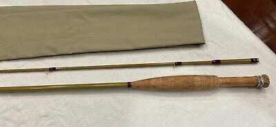 "$ CDN450 • Buy Rare Vintage Custom Orvis Golden Eagle - 7'6"" 5wt, 2 Piece Fly Rod"