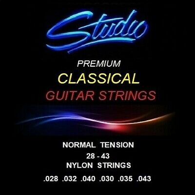$ CDN8.63 • Buy Classical Guitar Strings - Studio Premium  Normal Tension Nylon Strings
