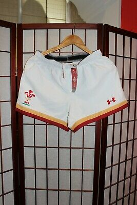 £35 • Buy Wales Rugby Union Shorts With Tags Size M .ALY