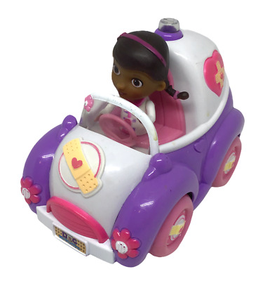 £12.25 • Buy Doc McStuffins Girl Rosie Rescuer Ambulance Truck Toy Moves Drives Lights Up