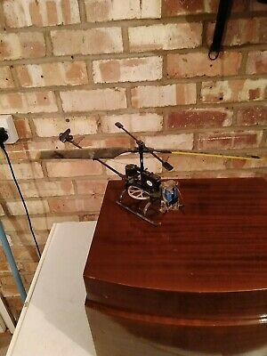 £25 • Buy Vintage Rc Helicopter Spares Or Repairs.