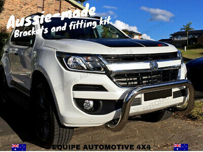 AU398 • Buy 2017-2021 Holden Colorado LTZ Z71 NUDGE BAR *STAINLESS STEEL *SENSOR COMPATIBLE