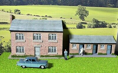 £12.99 • Buy Low Relief Farm Building And Pigsty, 00  Model Railway Building, Diorama.