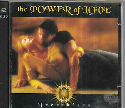 Time Life - The Power Of Love - Breathless - 2 CD Set • 3£