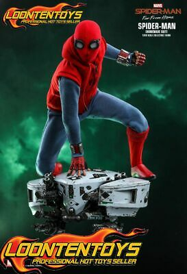 $ CDN278.10 • Buy Hot Toys 1/6 MMS552 - Spider-Man: Far From Home Spider-Man (Homemade Suit) READY