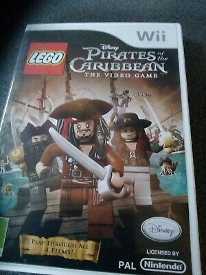Wii Lego Pirates Of The Caribbean • 2£