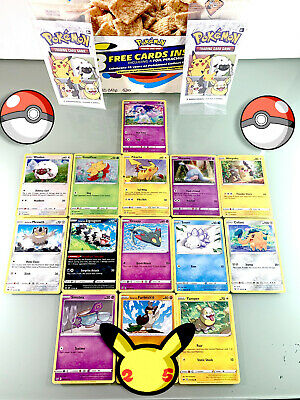 $3.98 • Buy Pokemon - General Mills 25th Anniversary Promo Cards - Complete Your Set!