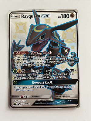 $ CDN77.23 • Buy Pokemon Rayquaza GX Hidden Fates 177a Shiny Full Art - Mint / Flawless PSA Ready