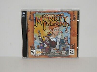 £6.35 • Buy Escape From Monkey Island (PC, 2000) - (2) CD Set - LucasArts Entertainment