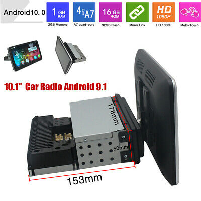 $217.34 • Buy 10.1  Car 1G+16G Radio Android10.0 Stereo GPS Navi Bluetooth WiFi Player Up-Down