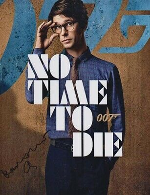 $ CDN1.27 • Buy Ben Wishaw New 007 James Bond Film    No Time To Die   Autograph Signed As Q