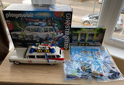 Plamobil Ghostbusters Ecto1 Set (9220)With Figure 4 Pack (70175) • 15£