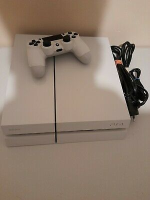 AU259 • Buy Sony PS4 PlayStation 4 White 500 GB Console + Controller
