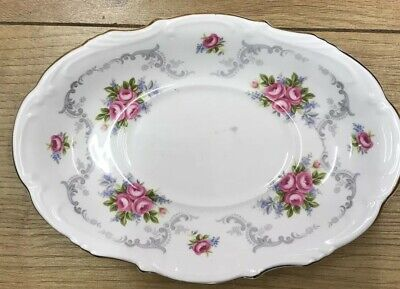 £12.50 • Buy VINTAGE ROYAL ALBERT TRANQUILITY OVAL SWEET MEAT DISH 8 Inch
