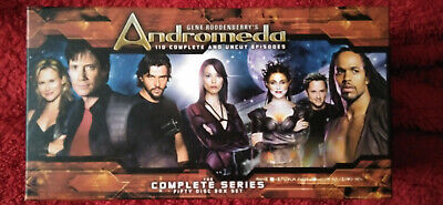 Gene Roddenberry's Andromeda The Complete Series (50 Disc Box Set) • 80£