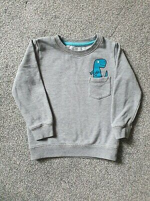 Blue Zoo Dinosaur Sweat Shirt 4-5 Years • 7£