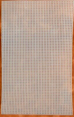 £2.75 • Buy 10.5in X 6.5in Plastic Mesh Canvas, Solid, Stiff, Ideal For Embroidery 7 Count