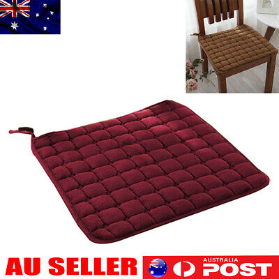 AU12.67 • Buy Seat Cushions Outdoor Indoor Cushion Square Soft Chair Pad Home Decor - 40x40cm