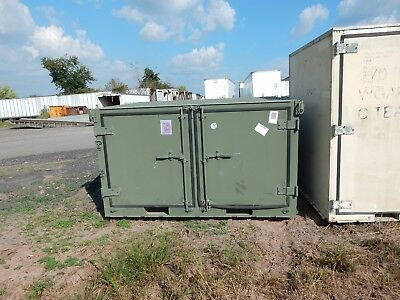 $995 • Buy Green Military Storage Container, Bilateral Openings, Compartmentalized