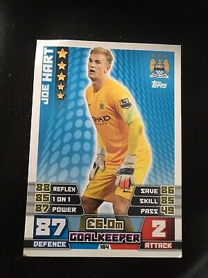 £0.99 • Buy Match Attax 14/15 Man City Joe Hart