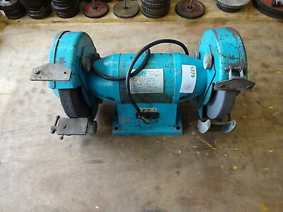 Wolf 8  Bench Grinder Missing One Rest / Runs Well Missing One Rest • 96£