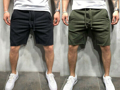 $17.99 • Buy Men's Casual Shorts Outdoor Joggers Pants Sports Workout Fitness Summer Beach