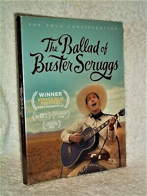 AU262.37 • Buy The Ballad Of Buster Scruggs (DVD 2018) Harry Melling James Franco Coen Brothers