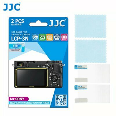$ CDN16.72 • Buy JJC Camera LCD Guard Film Screen Protector For Sony A6000 A6100 A6300 NEX-6
