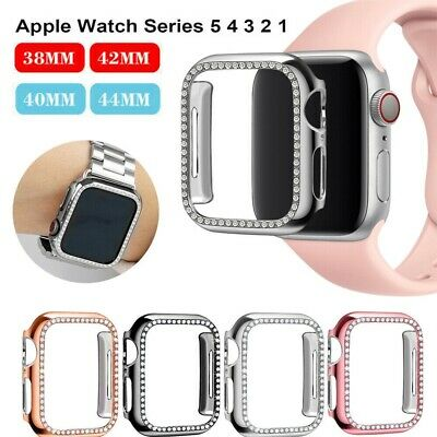 $ CDN6.04 • Buy For Apple Watch Series 6/5/4/3 Diamond Bling Protector Case Cover 38/40/42/44mm