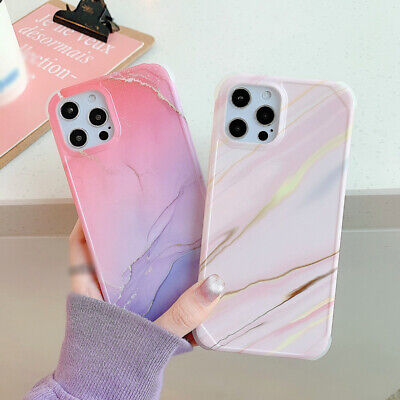 AU5.40 • Buy Case For IPhone 12 11 Pro Max XS XR 7 8 SE2 Shockproof Marble Silicone TPU Cover