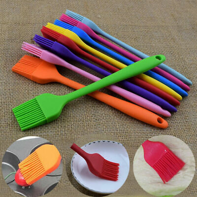 £1.29 • Buy Baking BBQ Basting Brush Bakeware Pastry Bread Oil Cream Cooking Silicone
