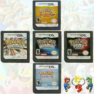 AU21.58 • Buy Pokemon Platinum Diamond SoulSilver Game Card For Nintendo 3DS DS Lite DSi NDS