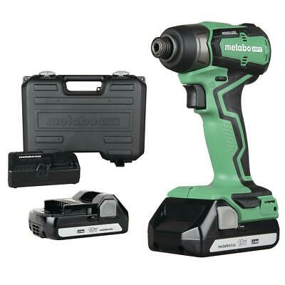 £102.82 • Buy Metabo HPT WH18DDXM 18V 1/2 In Cordless Lithium-Ion Impact Wrench Kit