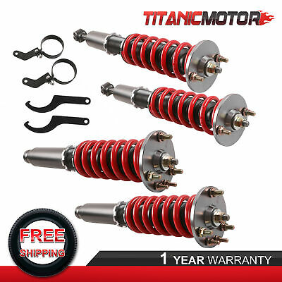 $243.82 • Buy Front & Rear Coilover Suspension Kit For 2003-2007 Accord 2004-2008 Acura TSX