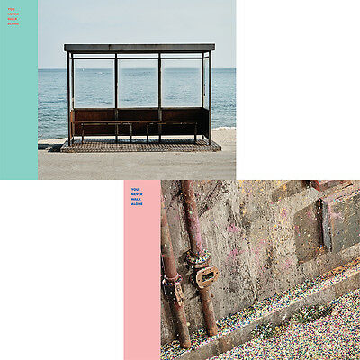 $61.50 • Buy BTS - YNWA You Never Walk Alone [2 Ver. SET] 2CD+2Posters+Free Gift+EXPRESS SHIP