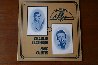 Charlie Feathers / Mac Curtis  Rockabilly Kings  Rare 1974 Lp Polydor Uk Mint • 39.50£